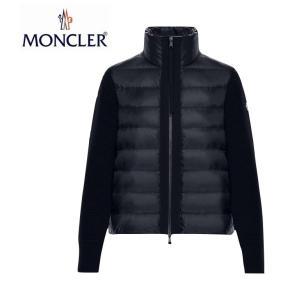 MONCLER モンクレール ZIPPER TRICOT CARDIGAN ジッパー トリコット カーディガン Ladys レディース Dark Blue ダークブルー 2019-2020年秋冬新作|fashionplate-fsp
