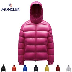 MONCLER モンクレール メンズ ダウンジャケット MAYA(マヤ) シャイニーブラック(999) 2019-2020年秋冬【送料無料】|fashionplate-fsp