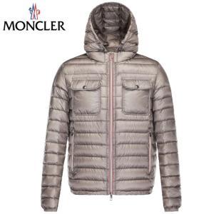 MONCLER モンクレール 2019年春夏新作 メンズ DOURET(ドーレット) ダークブルー ベージュ ジャケット ベスト ブルゾン ダウン 高級 アウター|fashionplate-fsp