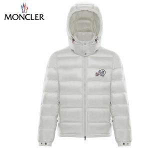 MONCLER モンクレール 2019-2020年秋冬新作 メンズ BRAMANT ブラマント ホワイト ダウンジャケット|fashionplate-fsp