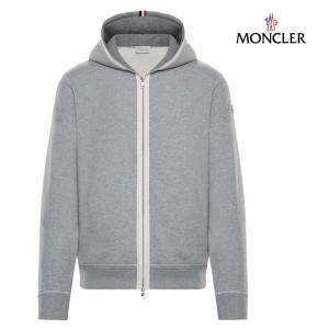 MONCLER モンクレール SWEAT SHIRTスウェット パーカー メンズ グレー 2018-2019年秋冬|fashionplate-fsp