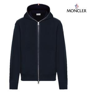 MONCLER モンクレール SWEAT SHIRTスウェット パーカー メンズ ネイビー 2018-2019年秋冬|fashionplate-fsp