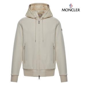 MONCLER モンクレール SWEAT-SHIRT スウェット パーカー メンズ アイボリー 2018-2019年秋冬|fashionplate-fsp
