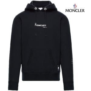 MONCLER モンクレール 7 MONCLER Fragment Hiroshi Fujiwara SWEAT-SHIRT Genius コレクション スウェット パーカー メンズ ブラック 2018-2019年秋冬|fashionplate-fsp