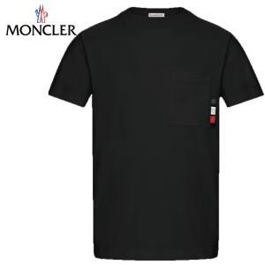 MONCLER モンクレール T-SHIRT Tシャツ Noir ブラック メンズ 2019年春夏 fashionplate-fsp