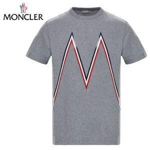 MONCLER モンクレール T-SHIRT Tシャツ Gris グレー メンズ 2019年春夏