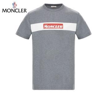 MONCLER モンクレール T-SHIRT Tシャツ Gris グレー メンズ 2019-2020...
