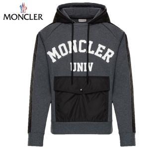 MONCLER SWEAT-SHIRT パーカー Gris グレー メンズ 2019-2020年秋冬
