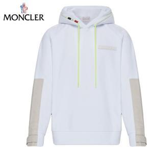 MONCLER SWEAT-SHIRT パーカー Blanc ホワイト メンズ 2019-2020年秋冬|fashionplate-fsp