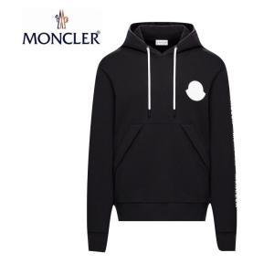 MONCLER モンクレール SWEAT-SHIRT HOODIE スウェット パーカー Mens メンズ Black ブラック 2019-2020年秋冬 2019AW|fashionplate-fsp