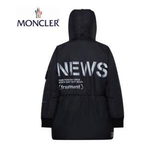 【海外限定モデル】7 MONCLER モンクレール 2019-2020年秋冬新作 メンズ FRAGMENT【HIROSHI FUJIWARA】フジワラ ヒロシ Jacket Coat TORNADO Black ブラック|fashionplate-fsp