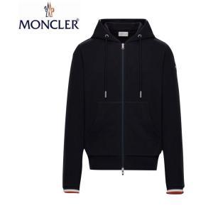 MONCLER モンクレール Mens メンズ HOODIE CARDIGAN パーカー カーディガン 2019-2020年秋冬新作 2019AW Dark Blue ダークブルー|fashionplate-fsp