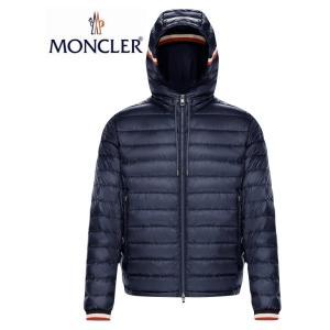 MONCLER GIROUX Dark Blue Navy Mens Down Jacket Outer 2020SS モンクレール ダークブルー ネイビー メンズ ダウンジャケット アウター 2020年春夏|fashionplate-fsp