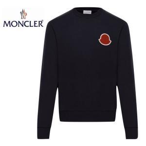 MONCLER SWEAT-SHIRT Dark Blue Mens 2020SS モンクレール スウェットシャツ トレーナー ダークブルー メンズ 2020年春夏新作 fashionplate-fsp