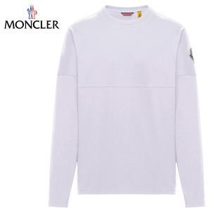 MONCLER 2 MONCLER 1952 T-SHIRT 2020SS モンクレール ホワイト Tシャツ 長袖 2020年春夏新作 fashionplate-fsp