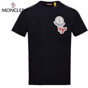 MONCLER 2 MONCLER 1952 T-SHIRT 2020SS モンクレール ダークブルー メンズ Tシャツ 2020年春夏新作 fashionplate-fsp