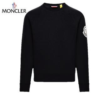 MONCLER 2 MONCLER 1952 SWEAT-SHIRT 2020SS モンクレール ブラック スウェット 長袖 2020年春夏新作 fashionplate-fsp