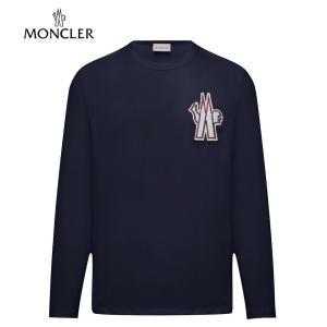 MONCLER T-SHIRT Dark Blue Mens 2020SS モンクレール Tシャツ ダークブルー メンズ 2020年春夏新作 fashionplate-fsp