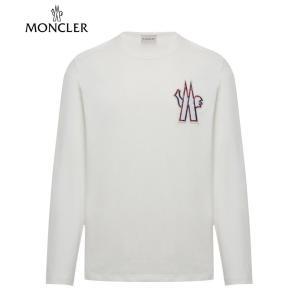 MONCLER T-SHIRT Ivorie Ivory Mens 2020SS モンクレール Tシャツ アイボリー メンズ 2020年春夏新作 fashionplate-fsp