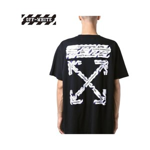 Off-White オフホワイト OVERSIZED T-SHIRT オーバーサイズ Tシャツ トップス Mens メンズ Black ブラック 2019-2020新作 2019AW fashionplate-fsp