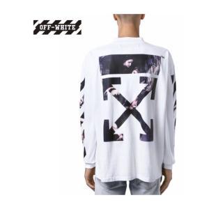 Off-White オフホワイト CARAVAGGIO LONG SLEEVE T-SHIRT カラヴァッジオ ロングスリーブ Tシャツ トップス Mens メンズ White ホワイト 2019-2020新作 2019AW fashionplate-fsp