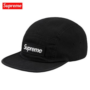Supreme シュプリーム 2018年春夏 Military Camp Cap Black キャップ|fashionplate-fsp