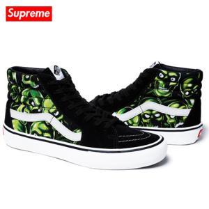 Supreme x Vans 2018年春夏 Skull Pile Sk8-Hi Multi|fashionplate-fsp