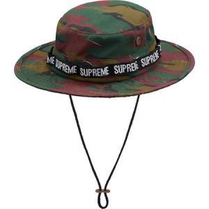 Supreme 2018年春夏 Military Boonie 帽子 ハット カモフラ|fashionplate-fsp