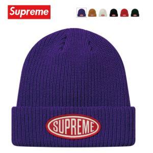 Supreme シュプリーム Oval Patch Beanie 帽子 ニット ビーニー 2018-2019年秋冬|fashionplate-fsp