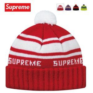 Supreme シュプリーム Classic Stripe Beanie ビーニー ニット 帽子 2018-2019年秋冬|fashionplate-fsp