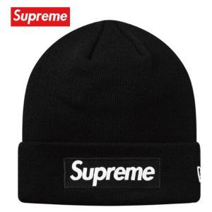 Supreme シュプリーム New Era Box Logo Beanie ビーニー ニット 帽子 ブラック 2018-2019年秋冬 fashionplate-fsp