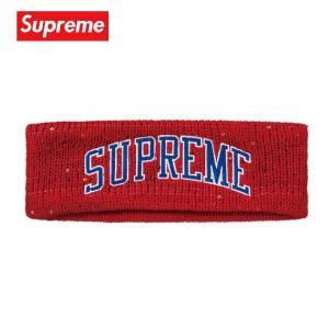 Supreme シュプリーム New Era Sequin Arc Logo Headband ヘッドバンド 2018-2019年秋冬 fashionplate-fsp