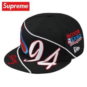 Supreme シュプリーム Racing New Era キャップ 帽子 black ブラック 2019年春夏|fashionplate-fsp