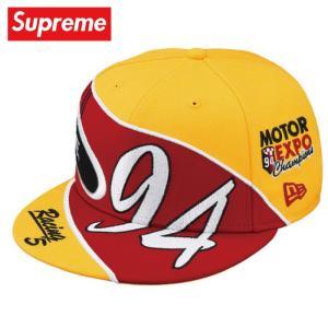 Supreme シュプリーム Racing New Era キャップ 帽子 gold ゴールド 2019年春夏|fashionplate-fsp