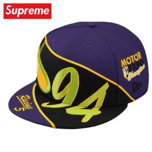 Supreme シュプリーム Racing New Era キャップ 帽子 purple パープル 2019年春夏|fashionplate-fsp