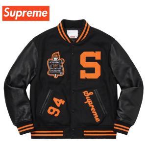 Supreme シュプリーム Team Varsity Jacket チーム バーシティ ジャケット スタジャン Black ブラック  2019-2020年秋冬新作 fashionplate-fsp