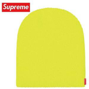 Supreme シュプリーム Basic Beanie ニット ビーニー 帽子 Bright Yellow ブライトイエロー 2019-2020年秋冬|fashionplate-fsp