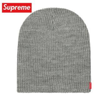 Supreme シュプリーム Basic Beanie ニット ビーニー 帽子 Heather grey フェザーグレー 2019-2020年秋冬|fashionplate-fsp