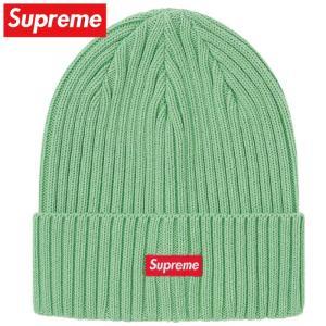 Supreme シュプリーム Overdyed Beanie ビーニー ニット 帽子 ミント Mint 2020SS 2020年春夏|fashionplate-fsp
