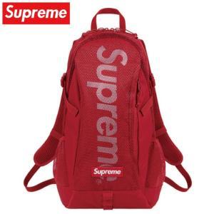 Supreme シュプリーム Backpack リュック バッグ レッド 2020年春夏 2020S...
