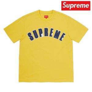 Supreme シュプリーム クルーネック イエロー 2020年春夏新作|fashionplate-fsp
