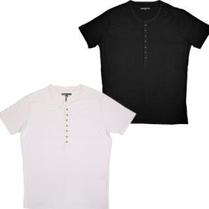 ハナカザリ Hanakazari ヘンリーネックボーダーTシャツ 0100-27507 通常販売価格:7590円 fashionspace-yokoya