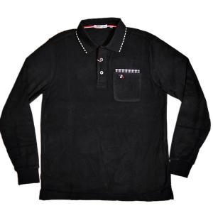 バジエ VAGIIE 暖か素材 長袖フリースポロシャツ 1120-2001 日本製 (アウトレット30%OFF) 通常販売価格:18700円|fashionspace-yokoya