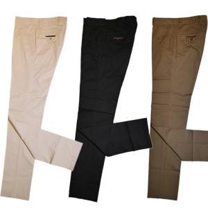 バジエ VAGIIE ストレッチ ノータックコットンパンツ 1220-4081(アウトレット30%OFF) 通常販売価格:17600円|fashionspace-yokoya