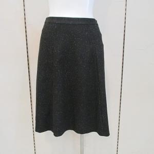 インディヴィ INDIVI レディース カラーネップフレアスカート (アウトレット30%OFF) 通常販売価格:17050円 fashionspace-yokoya