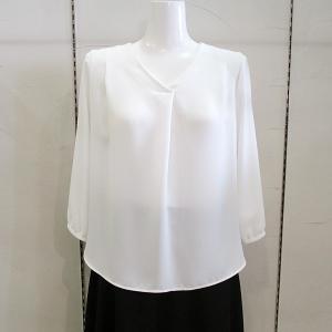 インディヴィ INDIVI レディース [マシンウォッシュ/UV/吸水速乾]プルエラドレープシャツ 2019秋冬新作 通常販売価格:14850円|fashionspace-yokoya