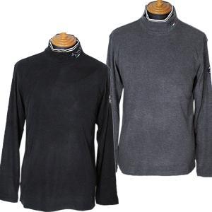 シナコバ SINACOVA メンズ 長袖ハイネックあったかシャツ インナー ゴルフウェア 2019秋冬新作 通常販売価格:23100円|fashionspace-yokoya