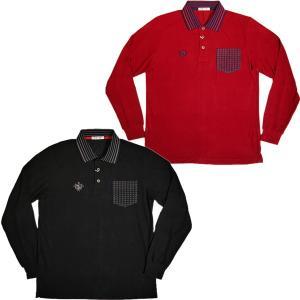 バジエ VAGIIE ラグウォーム素材 長袖ポロシャツ 2120-2001 日本製(アウトレット30%OFF) 通常販売価格:20900円|fashionspace-yokoya