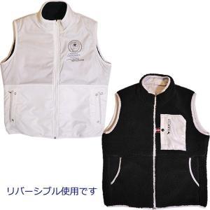 バジエ VAGIIE リバーシブル 撥水加工 裏ボアベスト 3120-9112 通常販売価格:31900円|fashionspace-yokoya