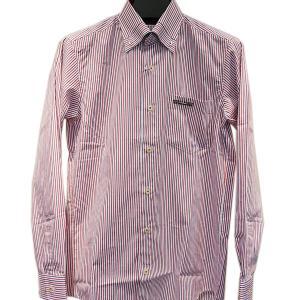 バジエ VAGIIE 日本製ストライプ柄長袖ボタンダウンシャツ (アウトレット30%OFF) 通常販売価格:17600円|fashionspace-yokoya